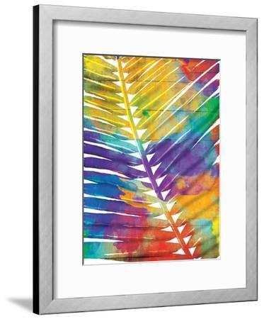 Watercolorful Palms-OnRei-Framed Art Print
