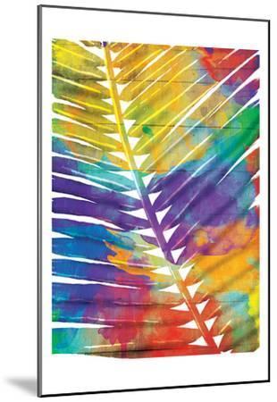 Watercolorful Palms-OnRei-Mounted Art Print