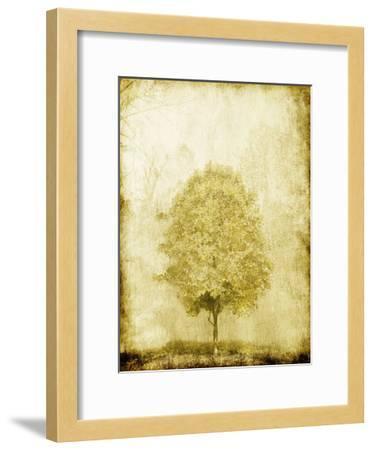 Golden Tree-OnRei-Framed Art Print