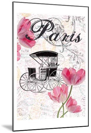 All Things Paris 4-Sheldon Lewis-Mounted Art Print