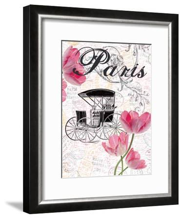 All Things Paris 4-Sheldon Lewis-Framed Art Print