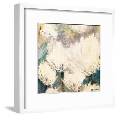 Floral Blowout-Victoria Brown-Framed Art Print