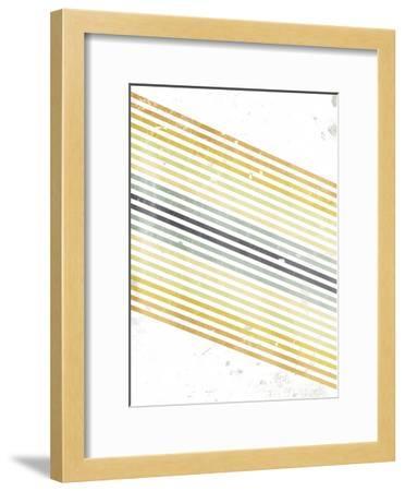 Grey Sun-OnRei-Framed Art Print