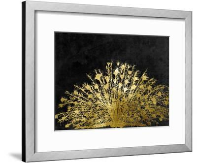Golden Peacock 2-Sheldon Lewis-Framed Art Print
