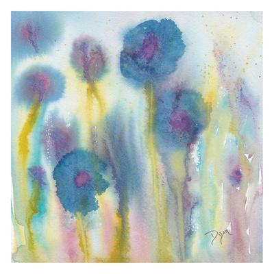 Wildflower Garden I-Beverly Dyer-Framed Art Print