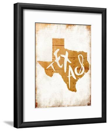 Wood Texas-Jace Grey-Framed Art Print