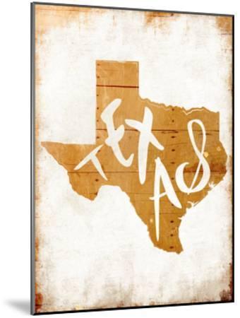 Wood Texas-Jace Grey-Mounted Art Print