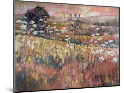 Sunrise Over The Wildflowers-Kruk Kruk-Mounted Art Print