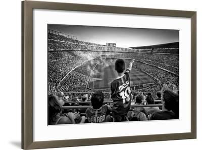 Cathedral Of Football-Clemens Geiger-Framed Giclee Print