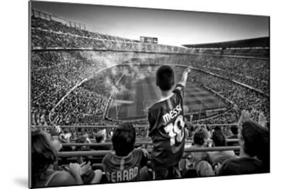 Cathedral Of Football-Clemens Geiger-Mounted Giclee Print