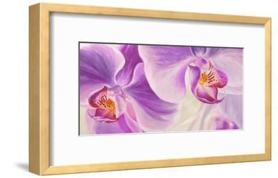 Purple Orchids-Cynthia Ann-Framed Giclee Print