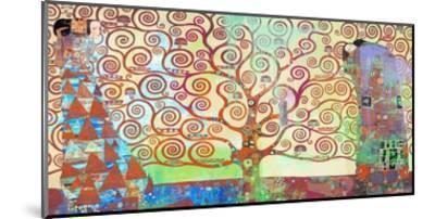 Klimt's Tree of Life 2.0-Eric Chestier-Mounted Giclee Print