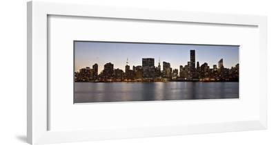 Midtown Manhattan skyline, NYC-Michel Setboun-Framed Giclee Print