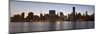 Midtown Manhattan skyline, NYC-Michel Setboun-Mounted Giclee Print