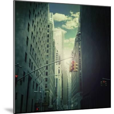 Downtown--Mounted Giclee Print
