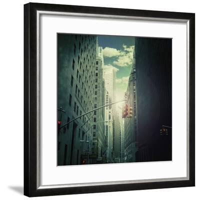 Downtown--Framed Giclee Print