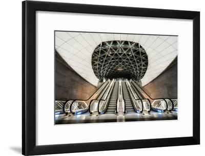 Below The Concrete Surface-Jacek Oleksinski-Framed Giclee Print