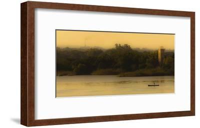 Fishing At Sunset-Lisandro Trarbach-Framed Giclee Print