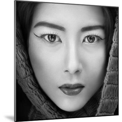 Portrait Of Icha-Arief Siswandhono-Mounted Giclee Print