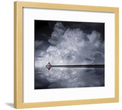 Cloud Desending-Like He-Framed Giclee Print