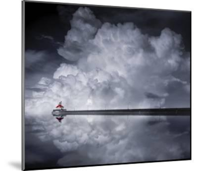 Cloud Desending-Like He-Mounted Giclee Print