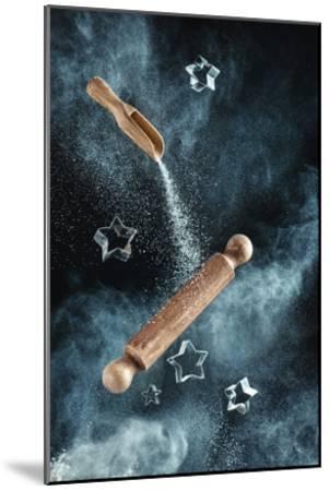 Kitchen Mess: Star-Shaped Cookies-Dina Belenko-Mounted Giclee Print
