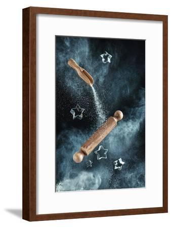 Kitchen Mess: Star-Shaped Cookies-Dina Belenko-Framed Giclee Print
