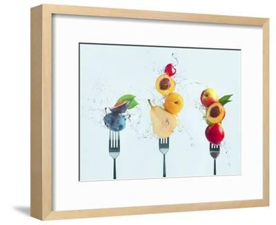 Making Fruit Salad-Dina Belenko-Framed Giclee Print