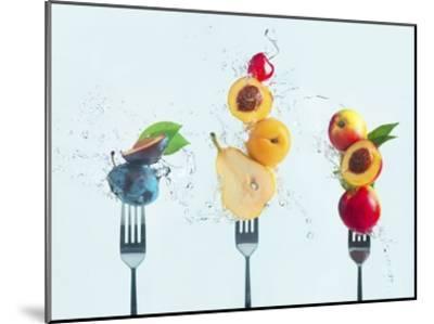 Making Fruit Salad-Dina Belenko-Mounted Giclee Print