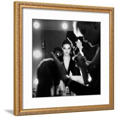 Back Stage-Didier Guibert-Framed Giclee Print