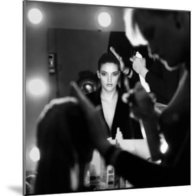 Back Stage-Didier Guibert-Mounted Giclee Print