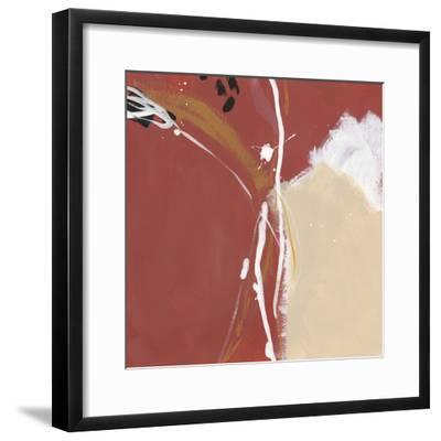 Molecular Dynamics IV-June Erica Vess-Framed Art Print