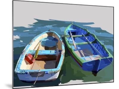 Bold Boats III-Emily Kalina-Mounted Art Print