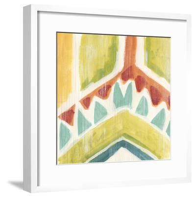 Textile Kaleidoscope IV-June Erica Vess-Framed Giclee Print