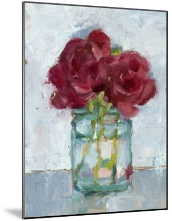 Impressionist Floral Study IV-Ethan Harper-Mounted Giclee Print