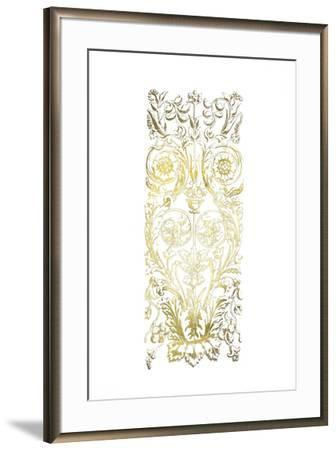 Gold Foil Renaissance Panel II-Owen Jones-Framed Art Print