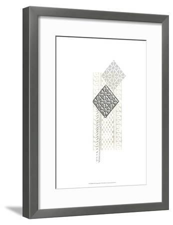 Block Print Composition I-June Erica Vess-Framed Art Print