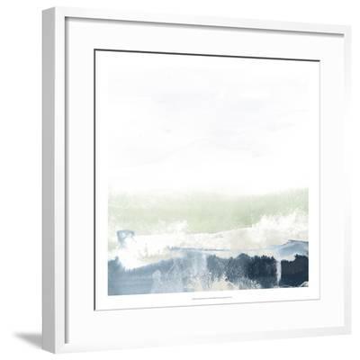 Seafoam Horizon I-June Erica Vess-Framed Giclee Print