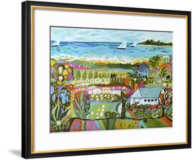 Nautical Whimsy III-Karen  Fields-Framed Giclee Print