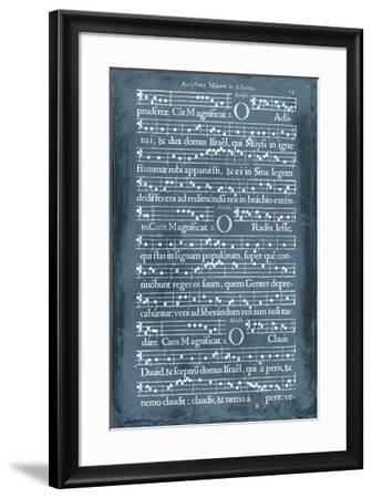 Graphic Songbook III-Unknown-Framed Giclee Print
