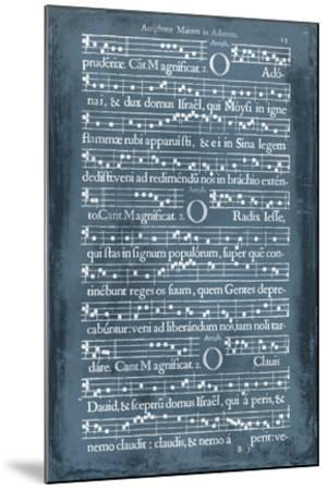 Graphic Songbook III-Unknown-Mounted Giclee Print
