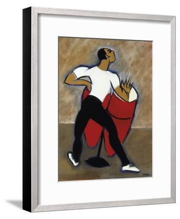 Red Congas-Marsha Hammel-Framed Giclee Print