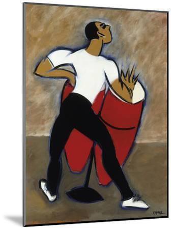 Red Congas-Marsha Hammel-Mounted Giclee Print