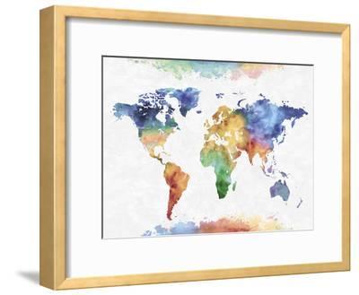 Colour Earth-Tania Bello-Framed Giclee Print