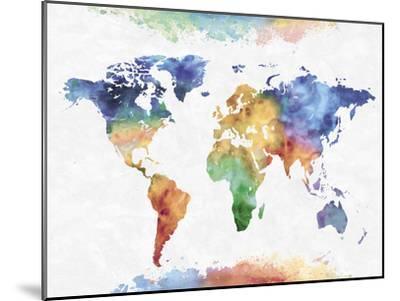 Colour Earth-Tania Bello-Mounted Giclee Print
