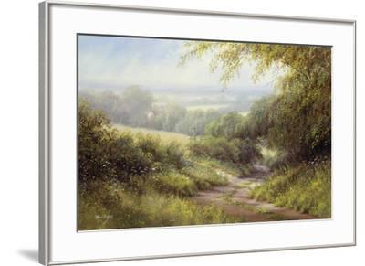 Country Path-Hilary Scoffield-Framed Giclee Print