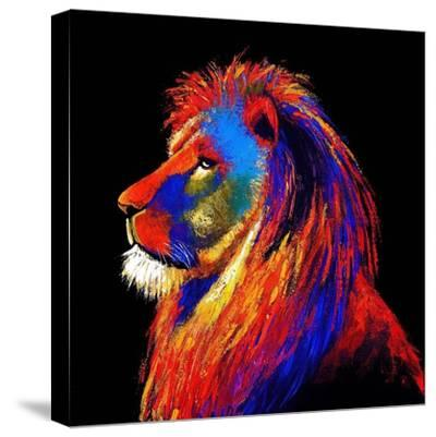 The Lion-Clara Summer-Stretched Canvas Print