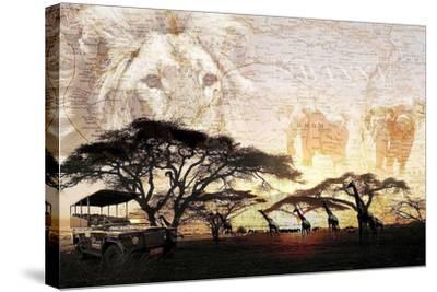 Savanna-GraphINC-Stretched Canvas Print
