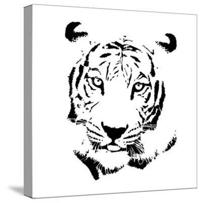 Tiger-GraphINC-Stretched Canvas Print