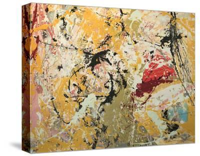 Splash-William Montgomery-Stretched Canvas Print